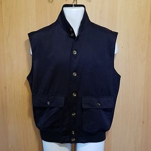 TravelSmith Polyester Button Front Vest